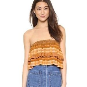 Free people Indian summer tube top, large
